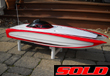 47 Inch Skater RC Boat