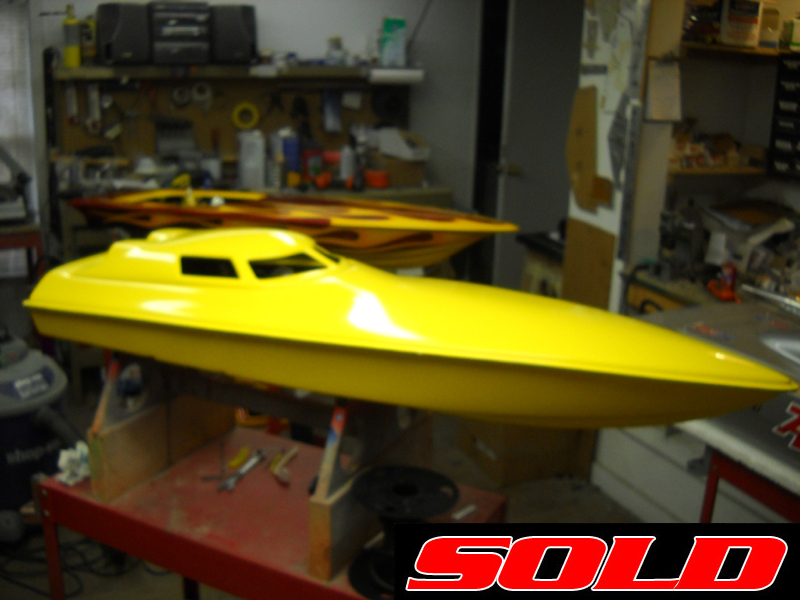 Used bonzi rc boats for sale