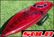 50&quot; Bonzi' - Red/Black - Sold!