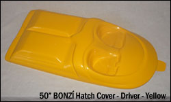 50 Hatch Cover - Driver - yellow