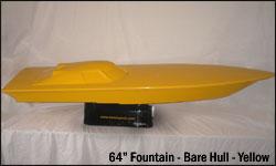 64 Fountain Bare Hull - yellow