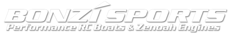 Bonzi' Sports RC Gas Boats and Accessories