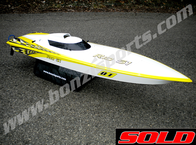 Enforcer Manta Ray Ready To Run RC Boat Bonzi Sports - Custom vinyl decals for rc boatsrc boat archives bonzi sports rc gas boats and accessories