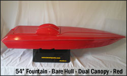 54 Fountain Bare Hull - Red