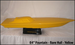 64 Fountain Bare Hull - yellow