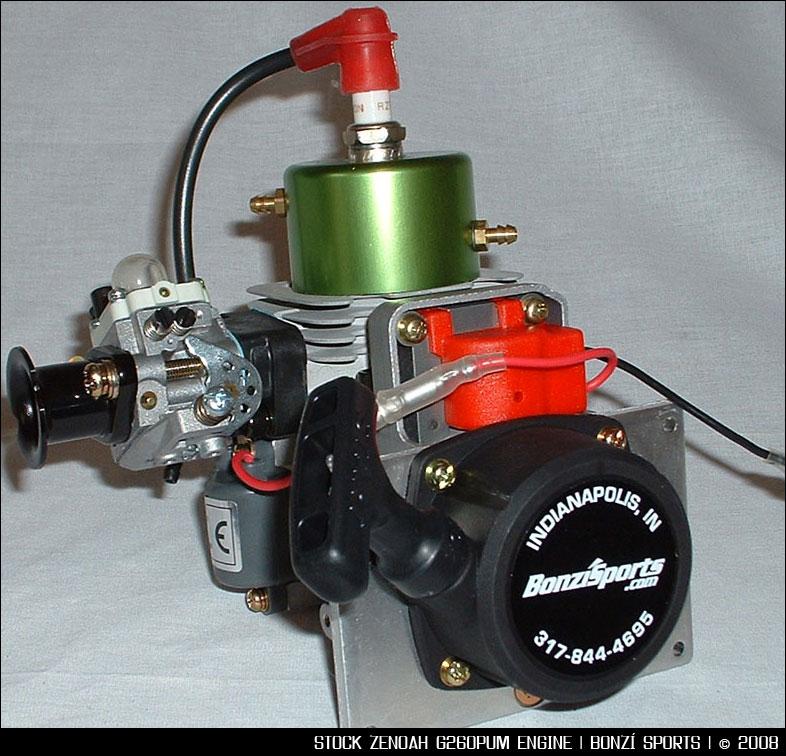 Zenoah G260PUM Marine Engine || Bonzi Sports