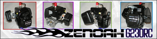 Zenoah G230RC Air-Cooled Engine