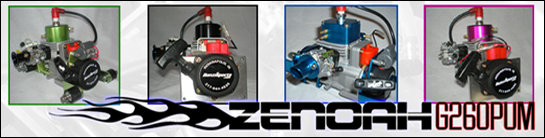 Zenoah G260PUM Water-Cooled Engine
