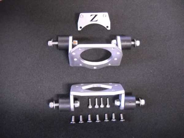 BONZI ENGINE MOUNTS - RAW - SPECIAL!! FOR ZENOAH ENGINES