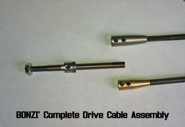 BONZI Complete Drive Cable Assembly