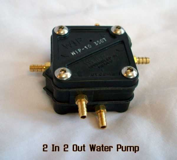 Walbro 2 In 2 Out Water Pump