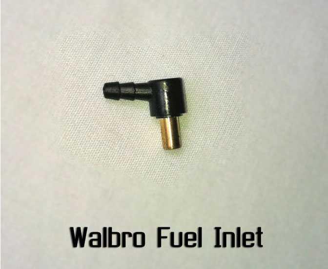 Walbro Fuel Inlet