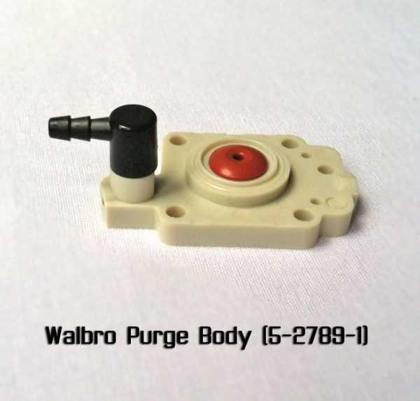Walbro Purge Body 5-2789-1