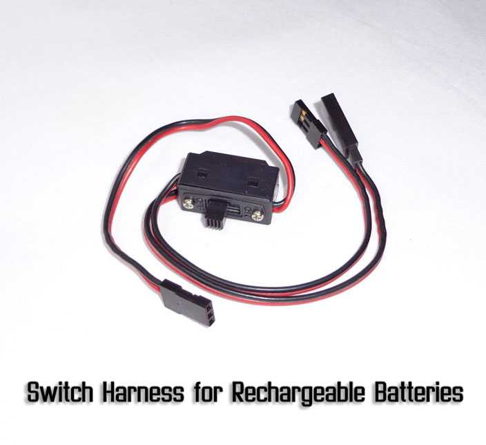 Switch Harness for Rechargeable Batteries