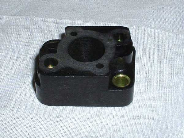 Insulator Block (fits Zenoah G260PUM, G290PUM, & G300PUM Water-Cooled Marine Engines)