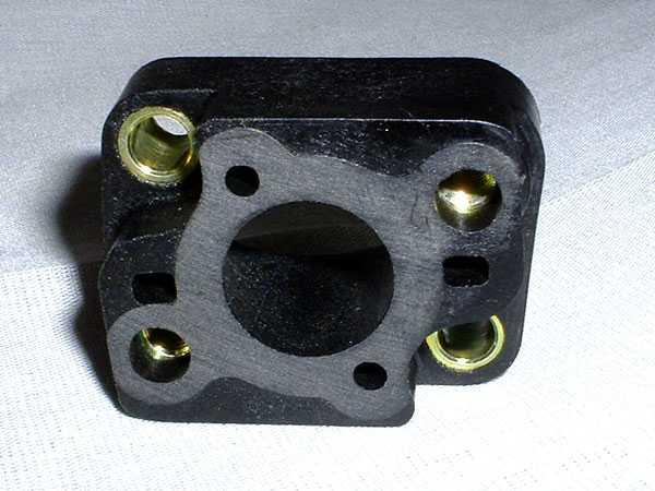 Insulator Block (fits Zenoah G260PUM, G290PUM, & G300PUM Water-Cooled Marine Engines)
