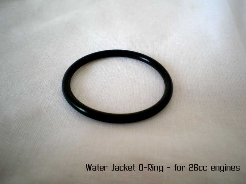 Water Jacket O-Ring (Large) - For 26cc Engines