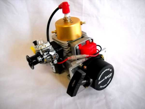 Zenoah G290PUM Marine Engine with Walbro WT-644 Carburetor