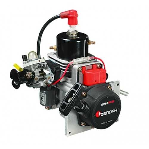 Zenoah G260PUM Marine Engine with Walbro WT-644 Carburetor