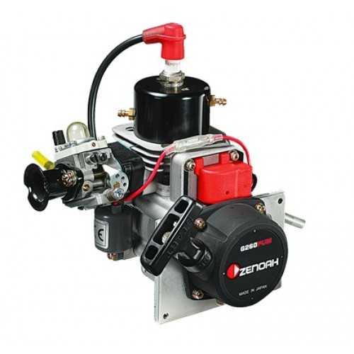 Zenoah G260PUM Marine Engine with Walbro WT-644 Carburetor