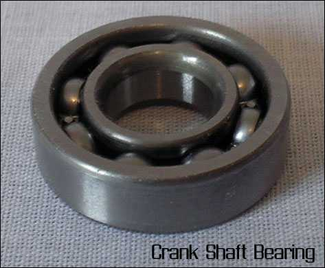 Crank Shaft Bearings (fits Zenoah G260PUM, Zenoah G231PUM, & QD25 Marine Engines)
