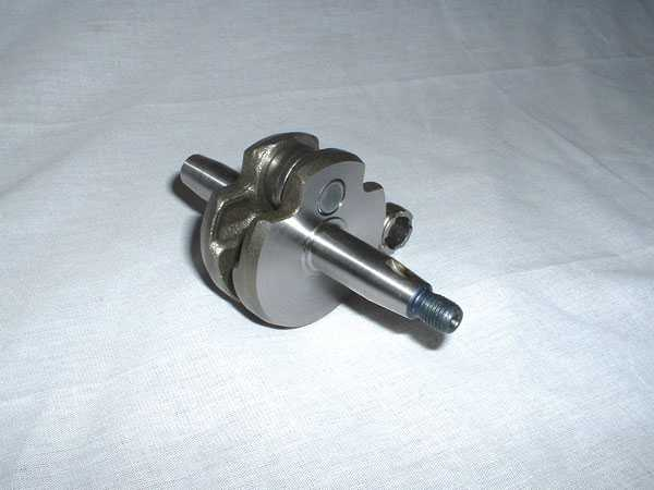 Complete Crank Shaft (fits Zenoah RC/Air-Cooled Engine Models)