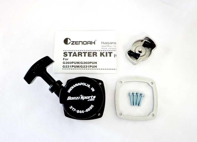 Zenoah EZ Starter Kit