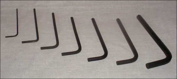 BONZI 8-Piece Allen Wrench Set