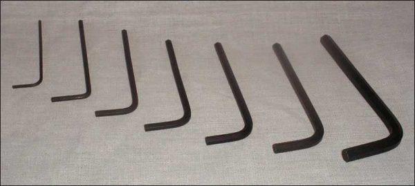 BONZI 8-Piece Allen Wrench Set