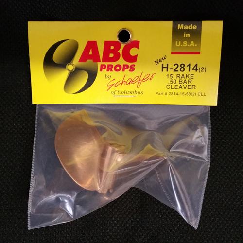 ABC H-2814/ 2-Blade Cleaver Prop (Left)