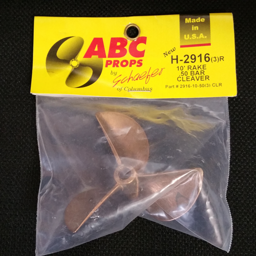 ABC H-2916/ 3-Blade Cleaver Prop (Right)