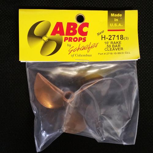 ABC H-2718/ 3-Blade Cleaver Prop (Left)