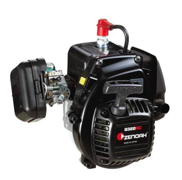 Zenoah G320RC 4 bolt engine with RC clutch