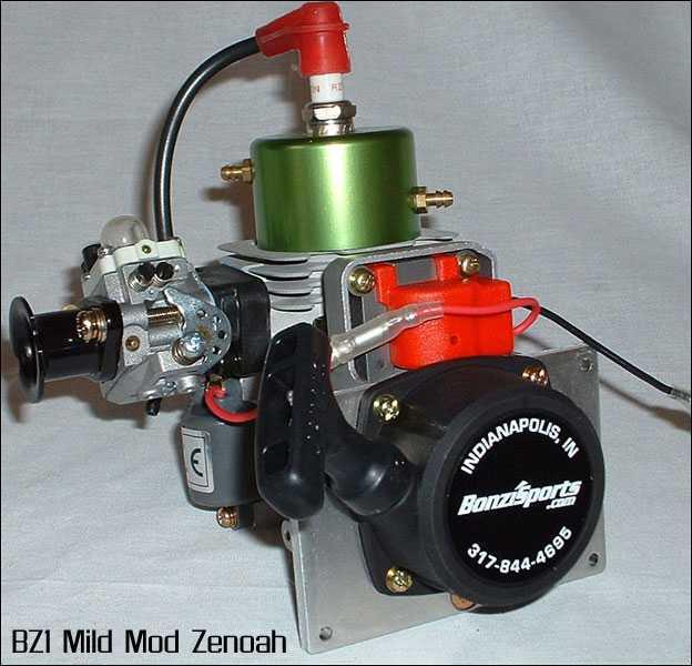 Zenoah G300PUM BZ1 Engine Modification