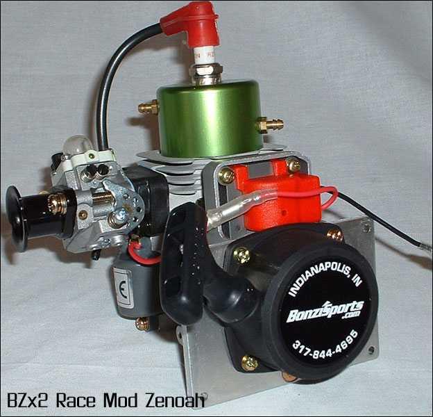 Zenoah G290PUM BZx2 Engine Modification