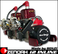 Zenoah i2 Inline by BONZI' SPORTS